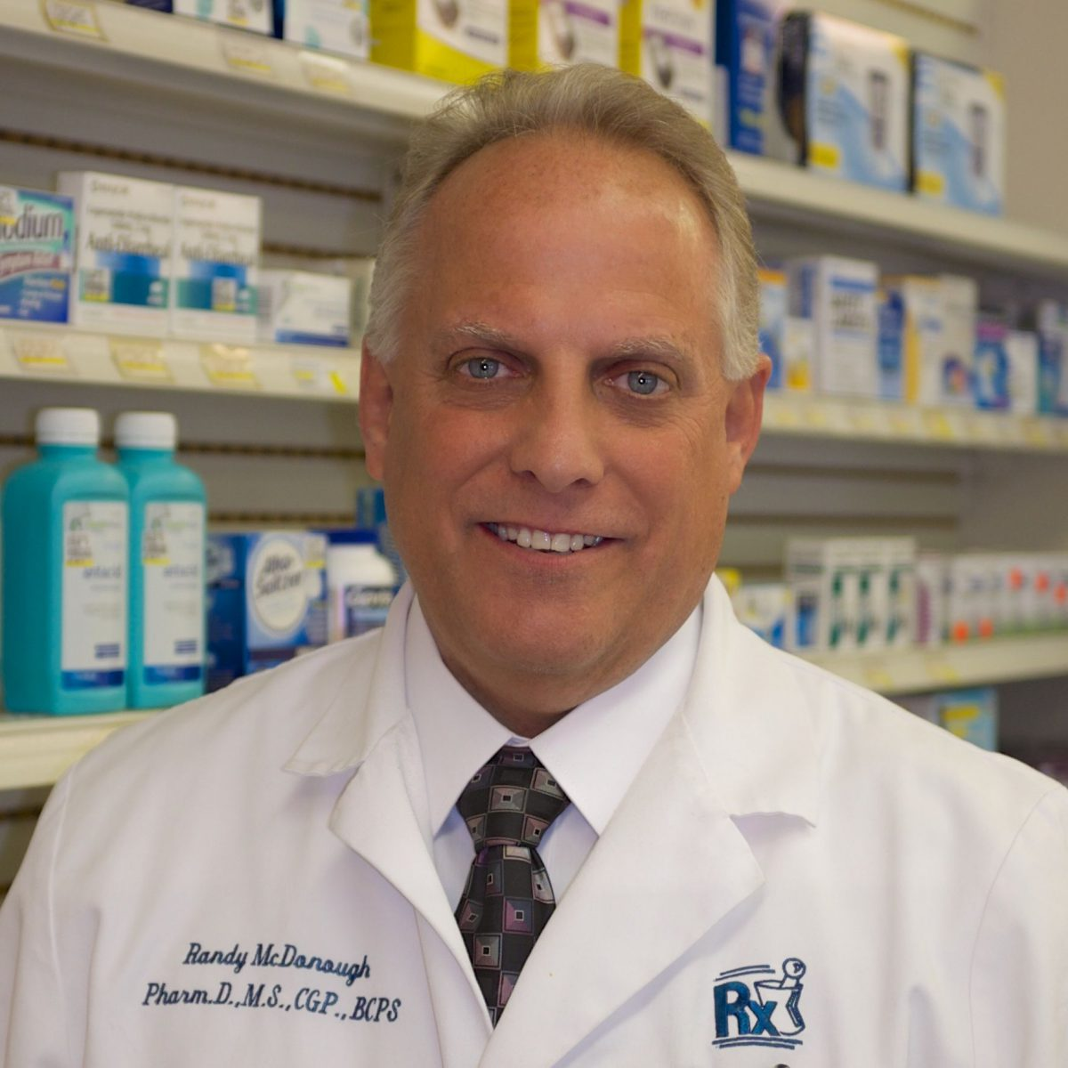 Randy McDonough, PharmD, MS, BCGP, BCPS, FAPhA