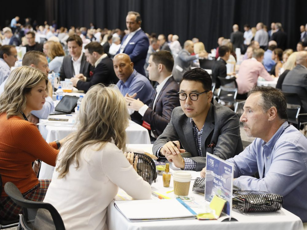 A record-breaking 7,600+ appointments took place at Meet the Market in 2019!